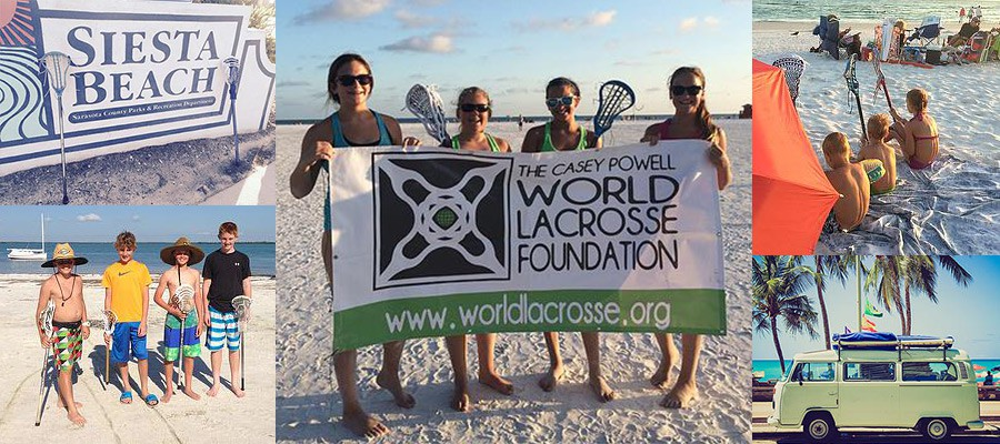 Image of 2015 World Beach Lacrosse tournament