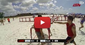 LAX Sportsnet featuring Speed Lacrosse on Beach